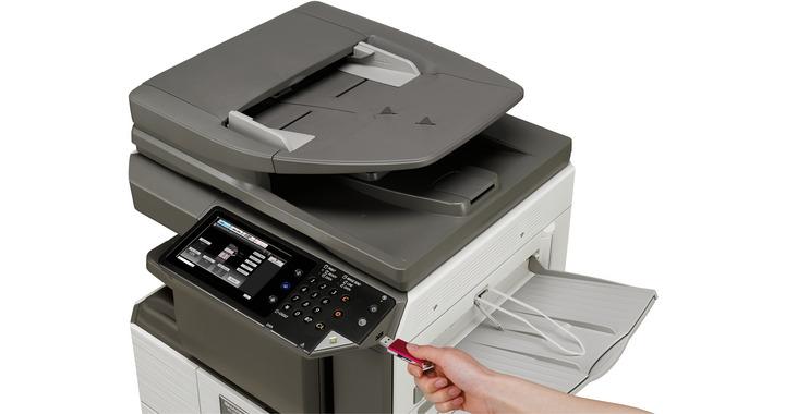 mx m266n mxm266n copieur imprimante num rique multifonction noir blanc product. Black Bedroom Furniture Sets. Home Design Ideas