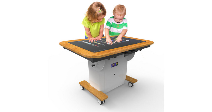 Interactive Touch Screen Table: Early Years Edition