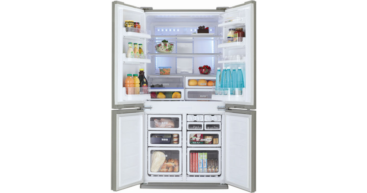 Sj fp810vbe sjfp810vbe frigoriferi frigoriferi large for Sharp frigoriferi 4 porte